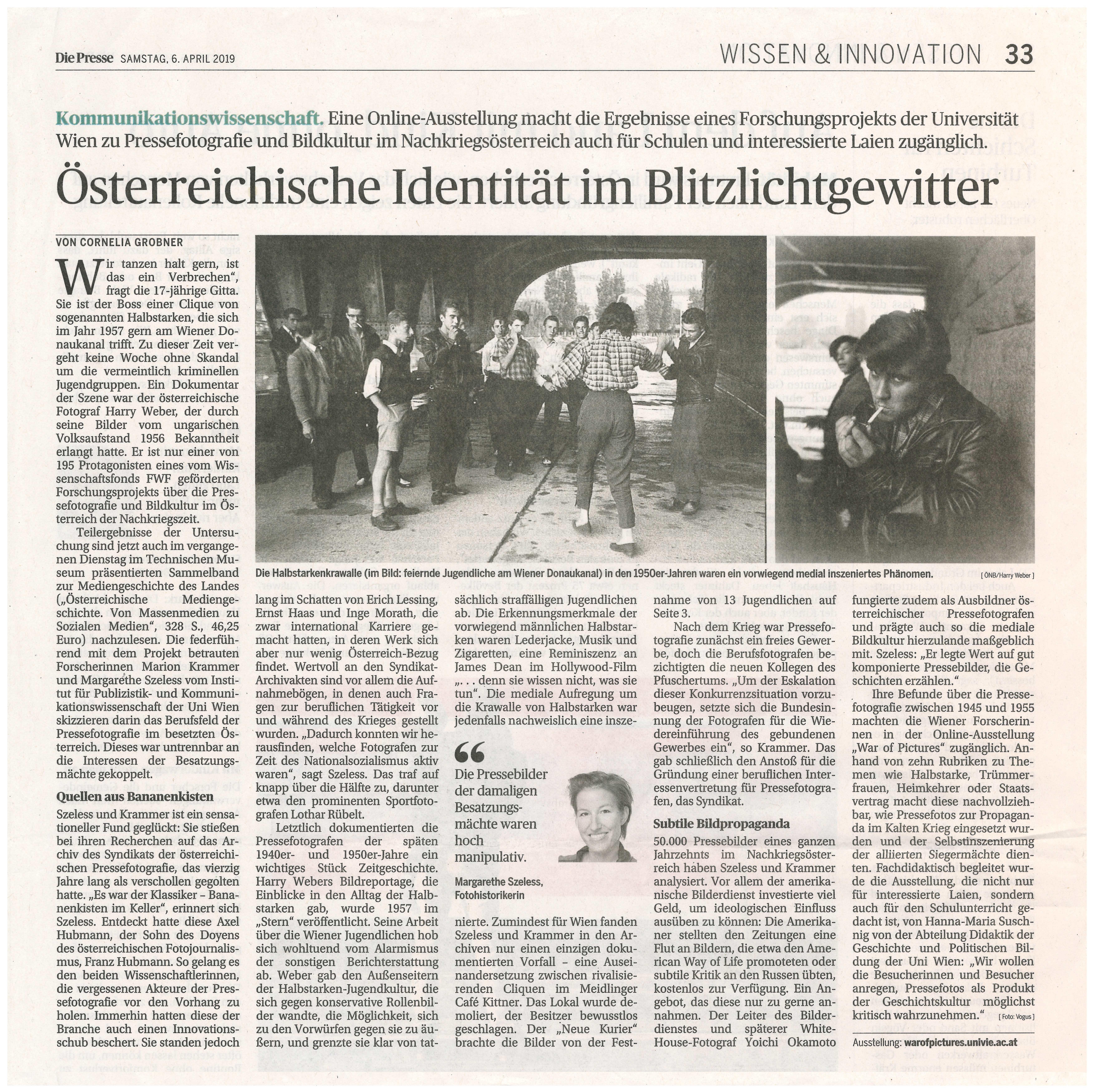 Nachkriegspropaganda Pressefotografen War of Pictures