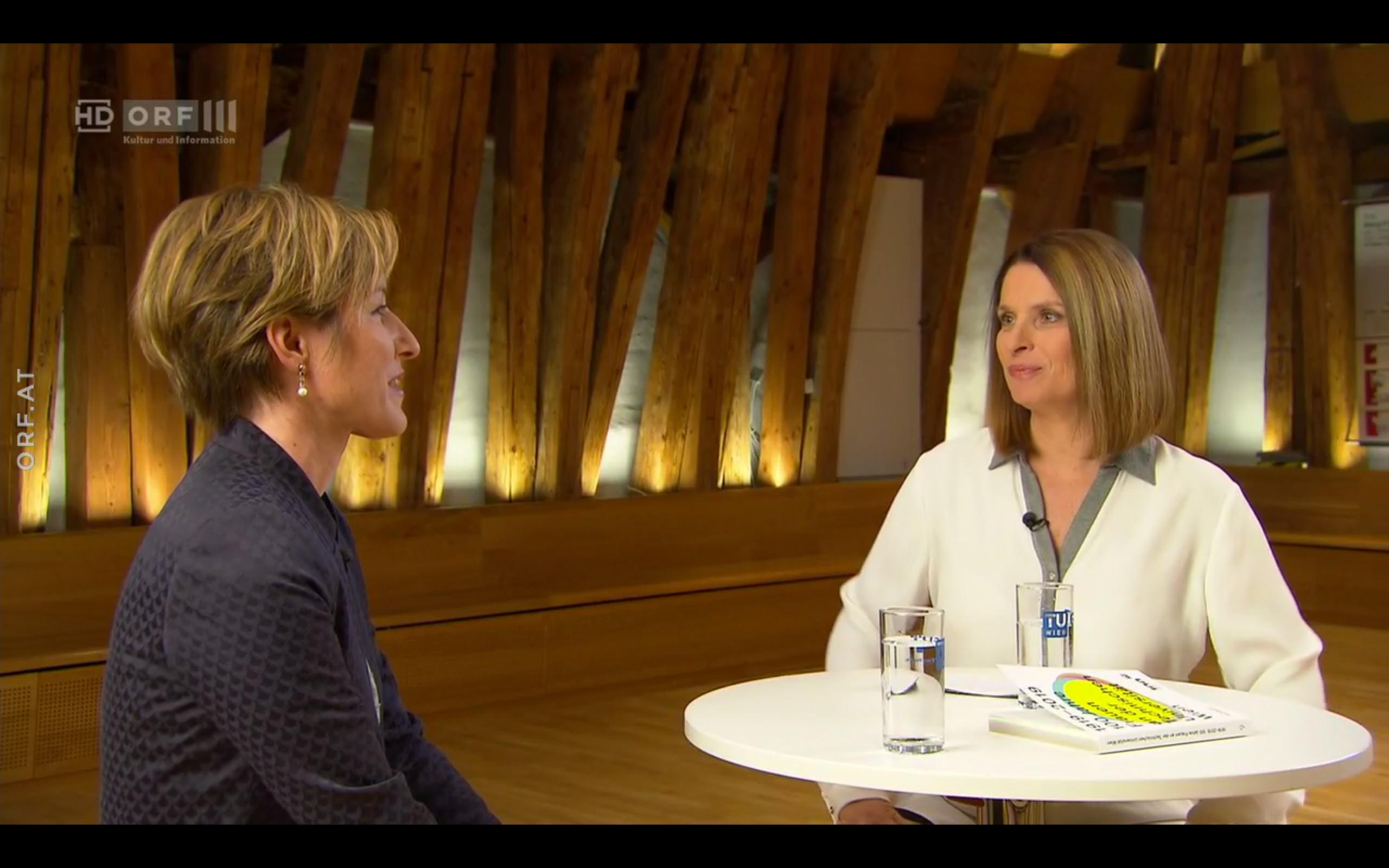 Science.talk Frauen und Technik Barbara Stöckl ORF
