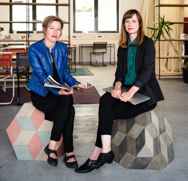 Team Foto 2020 Marion Krammer und Margarethe Szeless